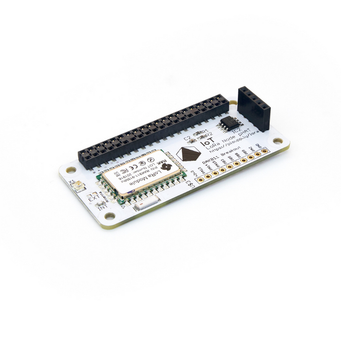 IoT LoRa Node pHAT for Raspberry Pi (868MHz/915MHz)