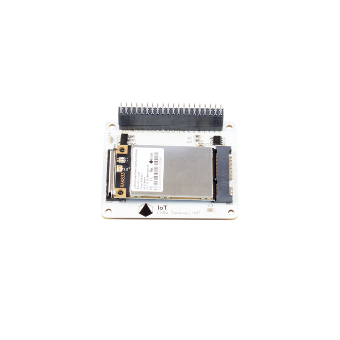 Pi Supply IoT LoRa Gateway HAT for Raspberry Pi with RAK833 SPI LoRa Gateway Concentrator mPCIe Module based on SX1301
