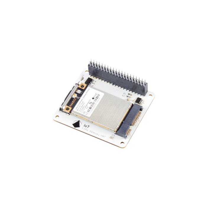 Pi Supply IoT LoRa Gateway HAT for Raspberry Pi (868 MHz / 915 MHz) with RAK833 SPI LoRa Gateway Concentrator mPCIe Module based on SX1301