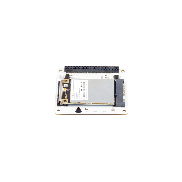 Pi Supply IoT LoRa Gateway HAT (868 MHz / 915 MHz) for Raspberry Pi with RAK833 SPI LoRa Gateway Concentrator mPCIe Module based on SX1301