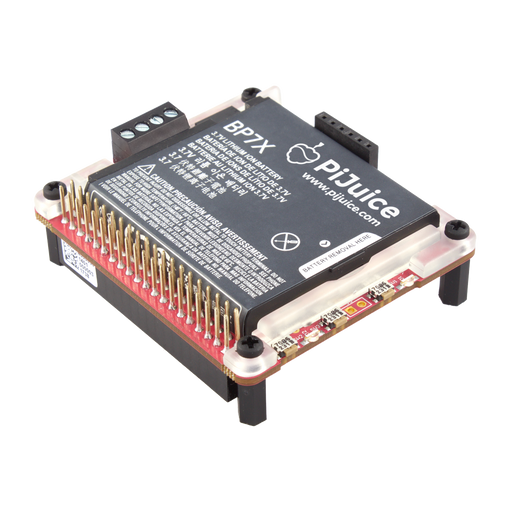 PiJuice HAT -  Uninterruptible power supply (UPS) solution for Raspberry Pi