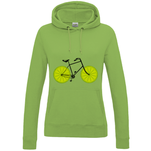 Lyme Lime Bicycle Women's Hoodie