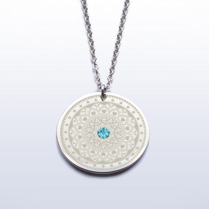 Spoonfinity Necklace with Customisable Gemstone