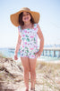 Tankini and shorts sun safe swimsuits girls