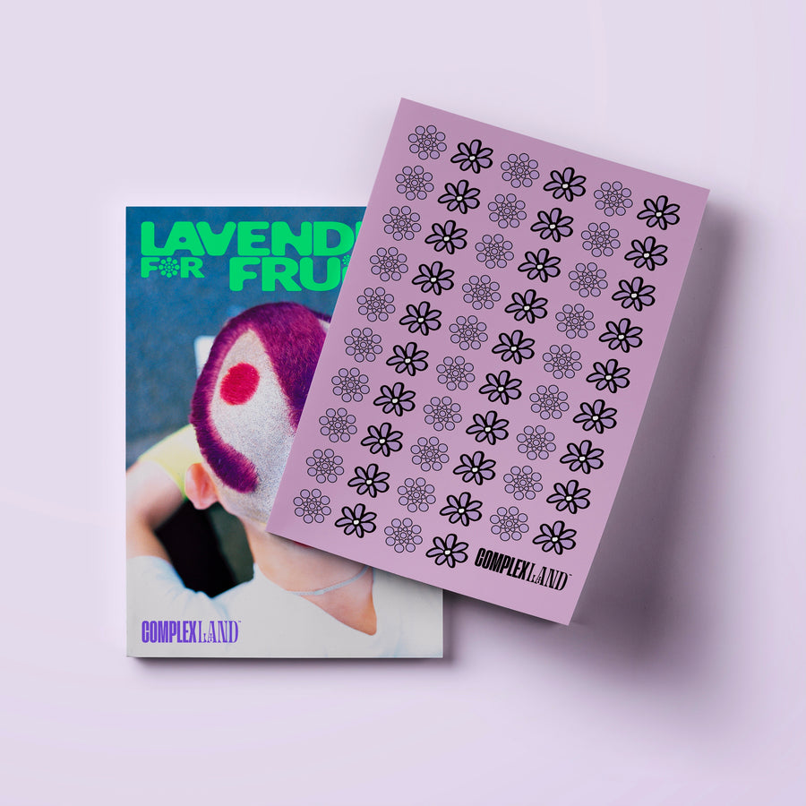 Lavender x FRUiTS Magazine Limited Edition Book