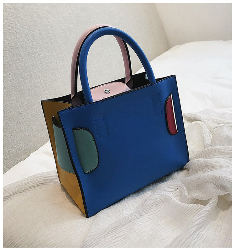 Buckle Bag in Rainbow - look-bags