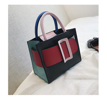 Load image into Gallery viewer, Buckle Bag in Rainbow - Noir.