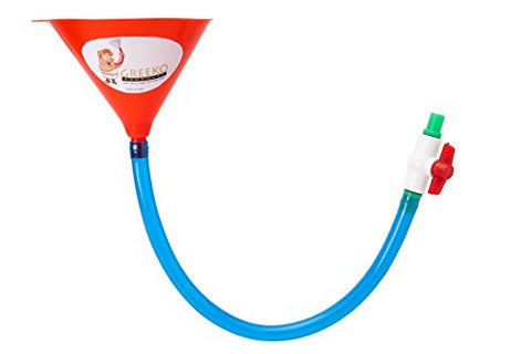 Beer Bong Funnel with Valve - 30""