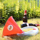 Beer Bong Funnel with Valve - 30 inch