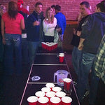 GoPong Official 8 Foot Regulation Sized Beer Pong Table (GoPong Black Design)