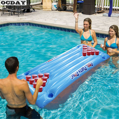 Inflatable Beer Pong Float
