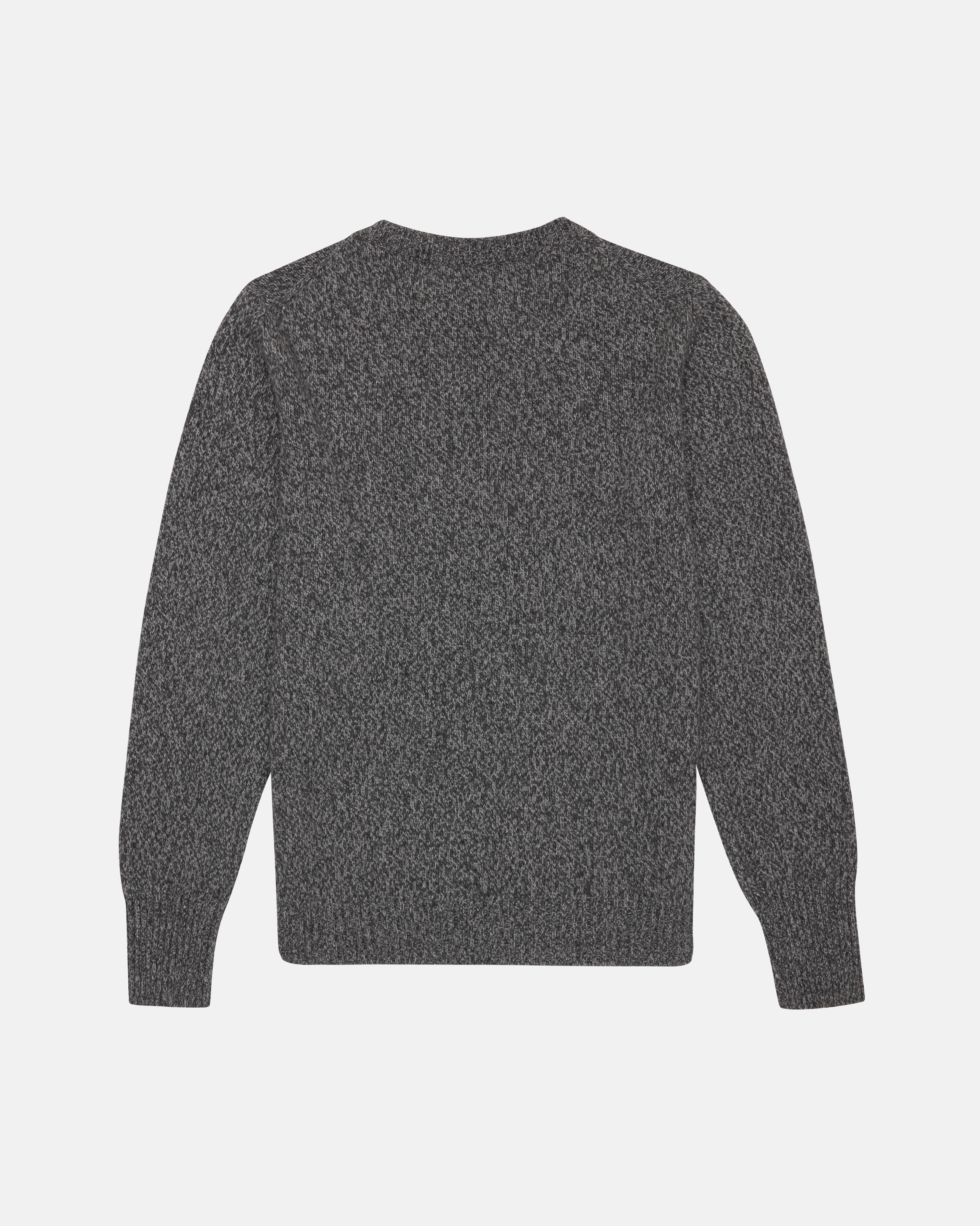 Recycled Cashmere Sweater - Charcoal