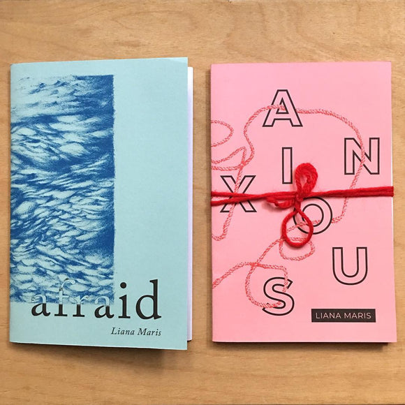 Afraid (2019) and Anxious (2018) - Studio Soup Zine Library