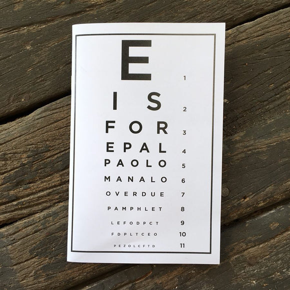 E is for Epal - Studio Soup Zine Library