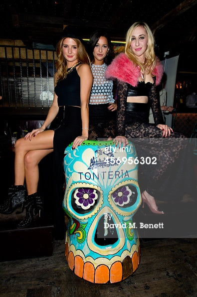 MILLIE MACKINTOSH AND ROXIE NAFOUSI ATTEND LOVEDAY LONDON EVENT - OCTOBER 2014