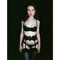 Atala Suspender Belt (with detachable straps)
