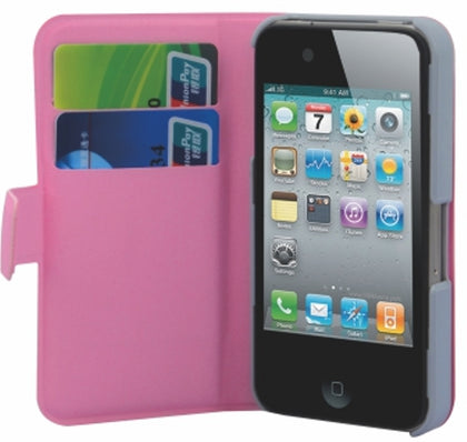 A400 - PU Case with Card Slot for iPhone 4