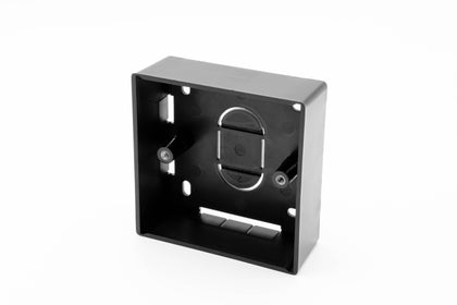86 x 86 x 32mm - Single Gang Back Box - Black - Netbit UK