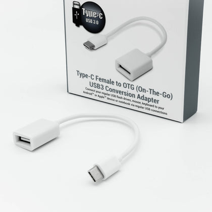 USB3.0 Type-C to OTG (USB3.0) Adapter - Netbit UK