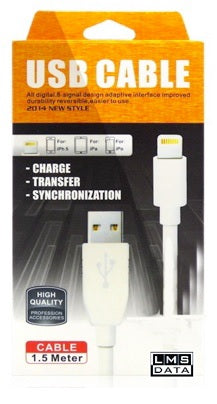 USB2.0 to Lightning Cable - thick cable - Netbit UK