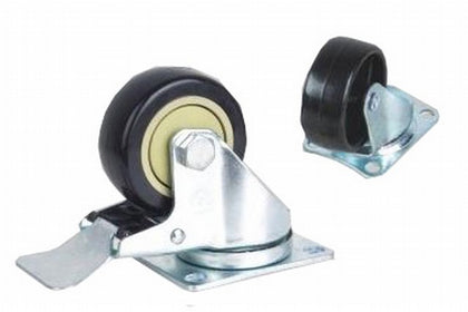 Heavy Duty Castors with Brakes for Eco NetCab Range - Netbit UK