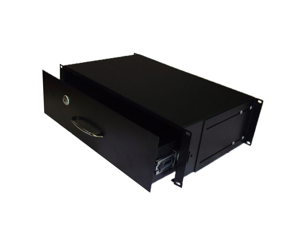 "19"" Rackmount 3U Lockable Draw"