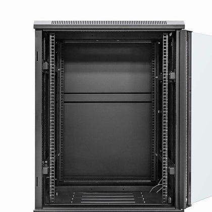 12U Cabinet Rack open door