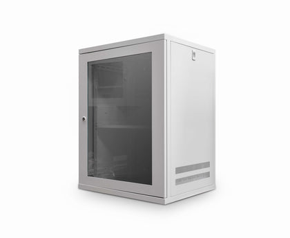 15u 450mm Deep Wall Cabinet (Grey) - Netbit UK