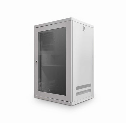 12u 550mm Deep Wall Cabinet (Grey) - Netbit UK