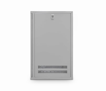 15u 550mm Deep Wall Cabinet (Grey) - Netbit UK