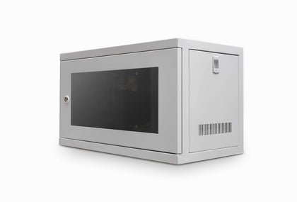 6u cabinet 300mm Deep Data / Comms Wall Cabinet / Rack - Grey