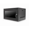 "6U 400mm 19"" Data Wall Cabinet - Black"
