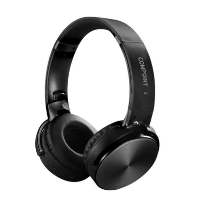 Bluetooth 4.0 Fold-able Stereo Headphones with Active Noise Cancallation - Black - Netbit UK
