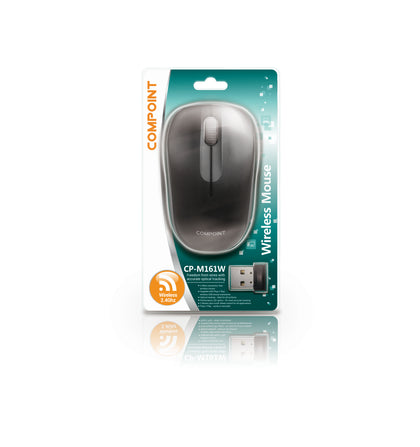 Wireless Mouse - Black / Black - 2.4Ghz