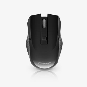 Wireless Mouse - Black - 2.4Ghz - Netbit UK