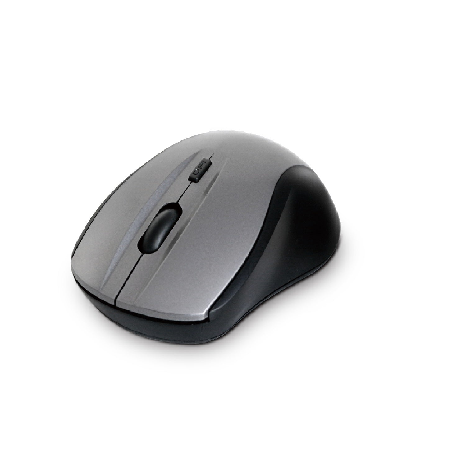 Compoint 2.4Ghz Wireless Optical Mouse with nano adapter - Grey