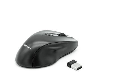 Wireless Mouse - Black - 2.4Ghz