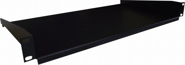 1U Cantilever Shelf 350mm (Black) Universal