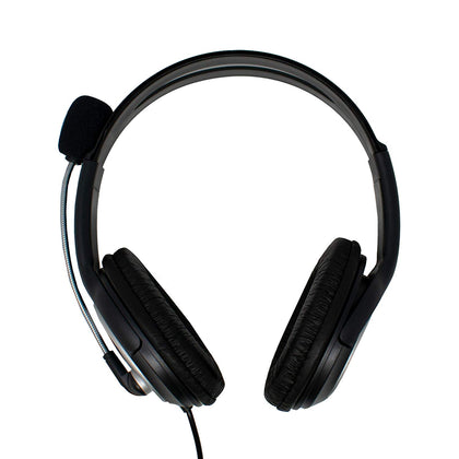 Stereo Headset & Microphone - Full Ear - 3.5mm Jack/s - Netbit UK