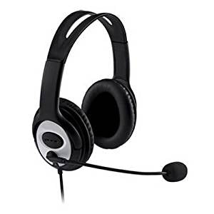 Stereo Headset & Microphone - Full Ear - 3.5mm Jack/s