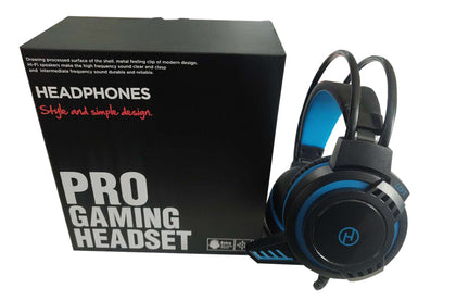 USB Stereo Gaming Headset with Mic - Netbit UK