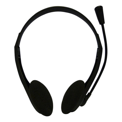 Stereo Headset & Microphone - 3.5mm Jack/s - Netbit UK
