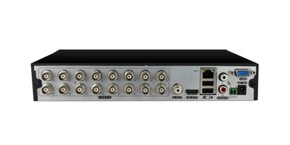 16 Channel H.265/H.265+ 5-in-1 DVR