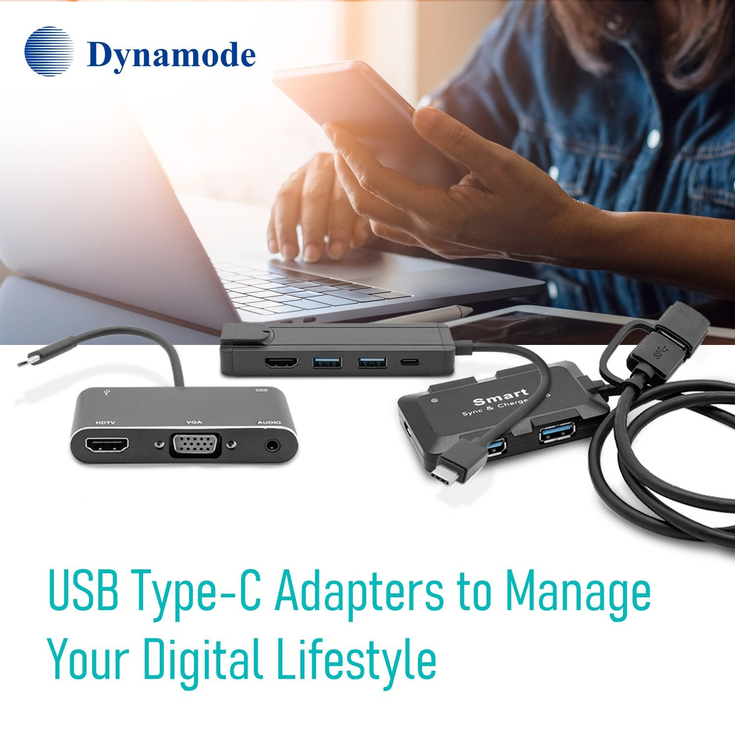 USB3.0 Type-C to HDMI 4K Adapter