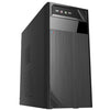 LockStock M-ATX PC Case,Black- 1x USB2.0 port,1 x USB3.0