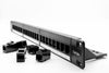 "1U 19"" 24 Port CAT5E Network Through Coupler Patch Panel (UTP)"