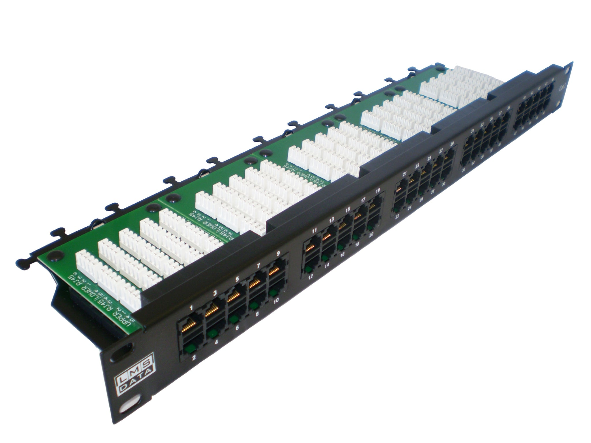 "2U 19"" 50 Port CAT3/TELEPHONE - Patch Panel (Dual Use) - 6 Pin (UTP)"