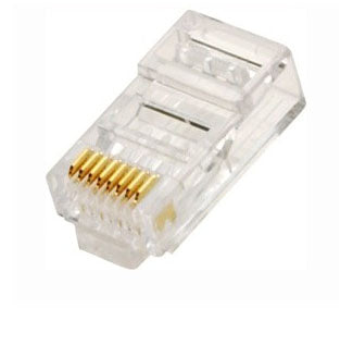 RJ45 Network Connector Plug CAT5e Crimp End *Bag of 100*