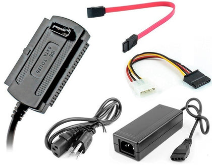 USB 2.0 - IDE/SATA Storage Converter Kit - Netbit UK