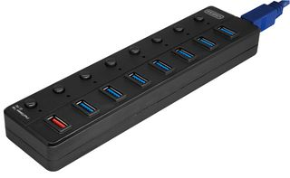 8 Port USB Hub USB3.0 (7+1) - Netbit UK